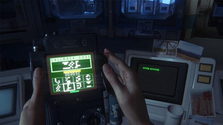 Alien Isolation comput