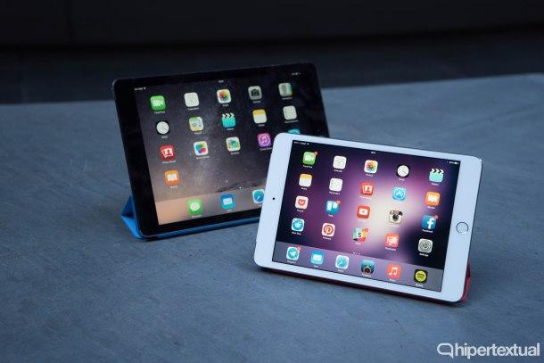 iPad Air 2 y iPad mini