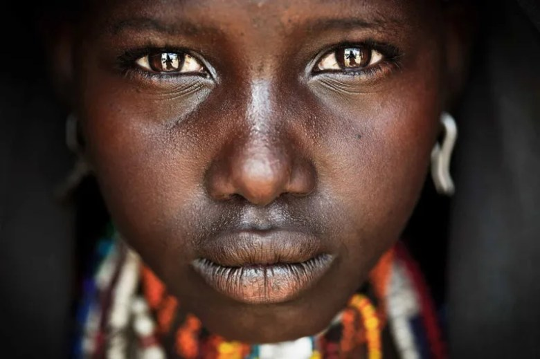 Onno, una adolescente de Etiopía. Foto de Matjaz Krivic. National Geographic Photo Contest