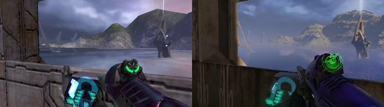 Halo 2 Anniversary Comparación