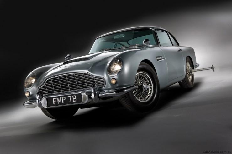 El clásico Aston Martin DB5