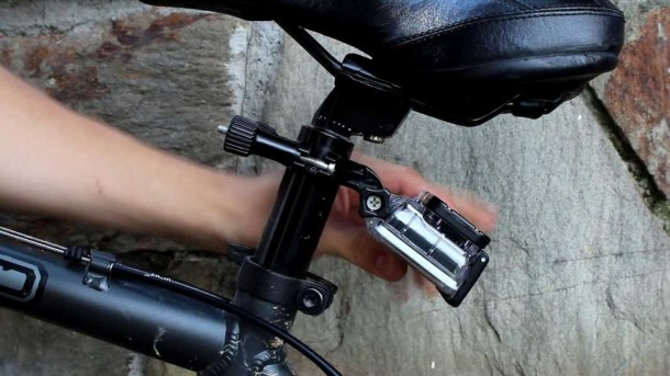 Bicicleta GoPro