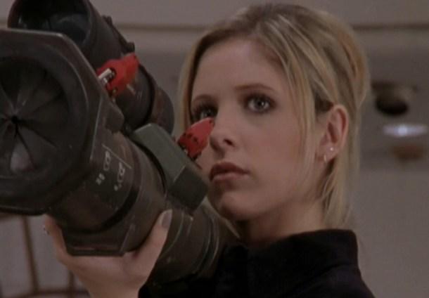 Buffy y su bazuca