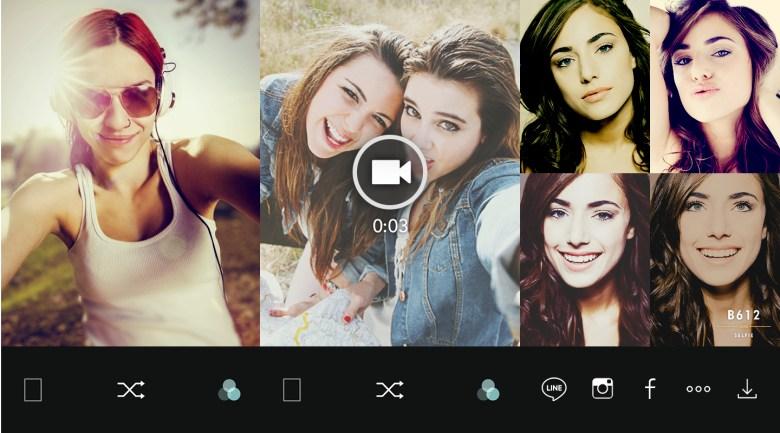 Selfies en Android