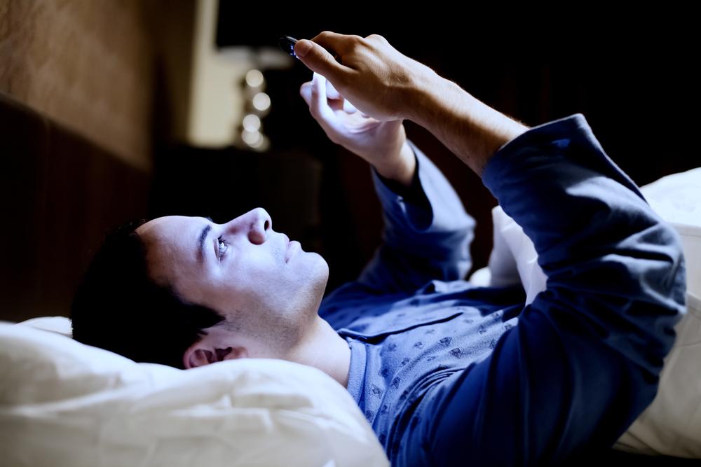 smartphone antes de dormir