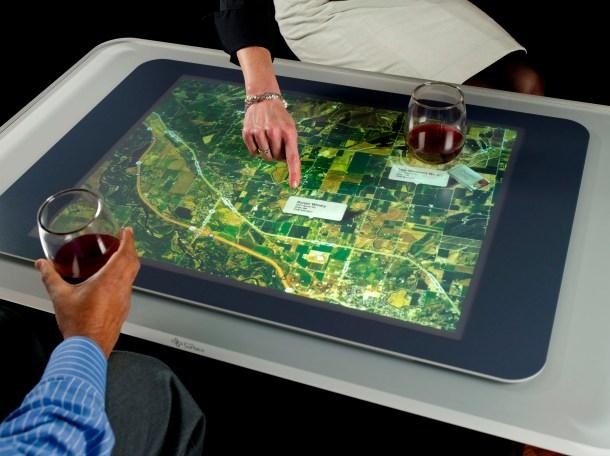 Microsoft Surface, luego rebautizada a PixelSense.