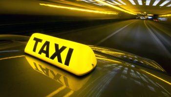 Luminoso de un taxi
