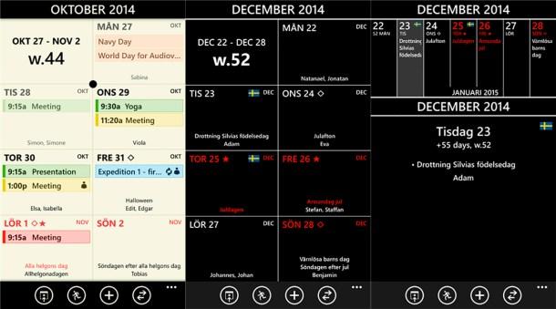 Chronos Calendar +