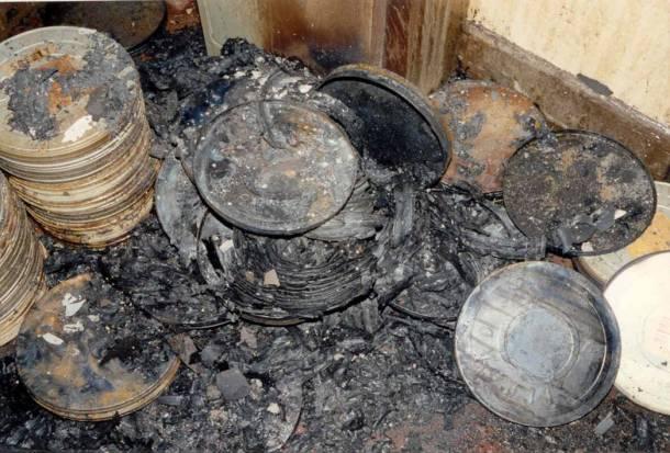 Incendio en los laboratorios de película Hendersons