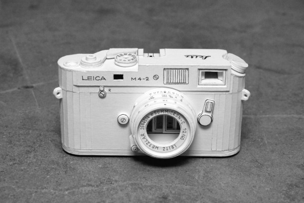 """Leica M4-2 """"tuneada"""".   Fuente: Brainrental-lab"""