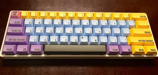 usar un teclado mecácnico