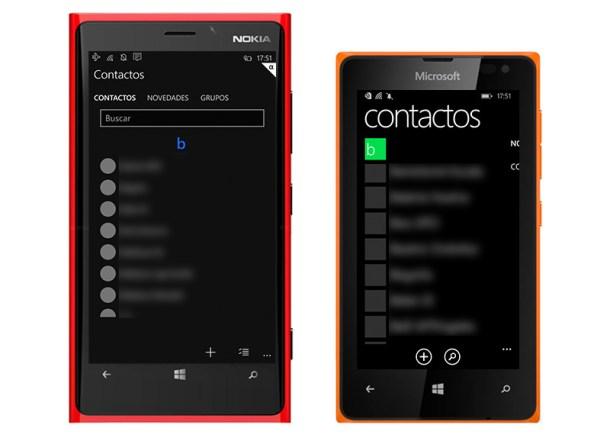 windows 10 contactos
