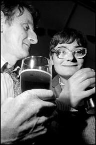 IRELAND. Listowel, County Kerry. 1996. In the racetrack bar.