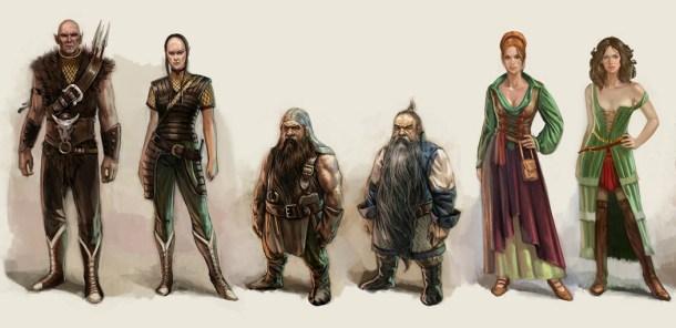 The Witcher Razas
