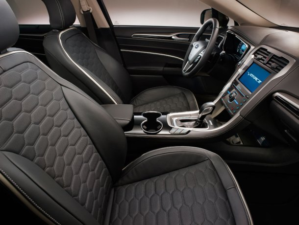 Interior del nuevo Ford Vignale Mondeo