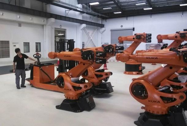 Kuka es una empresa de robots industriales con un vertiginoso crecimiento.