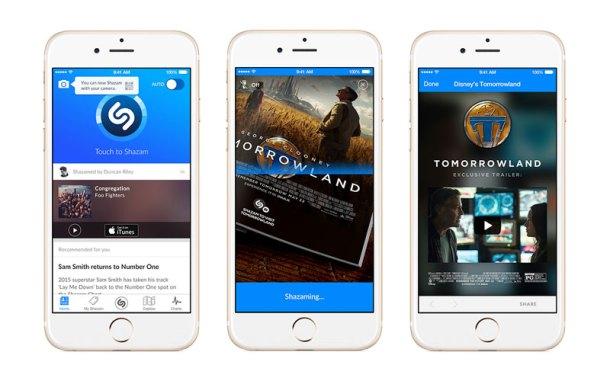 Muestra de Shazam Visual en iOS