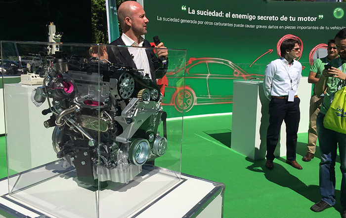 Demostración de la efectividad de los nuevos carburantes con tecnología ACTIVE