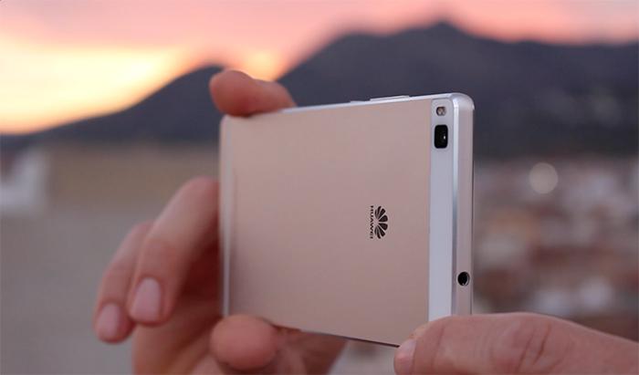 cámara del Huawei P8