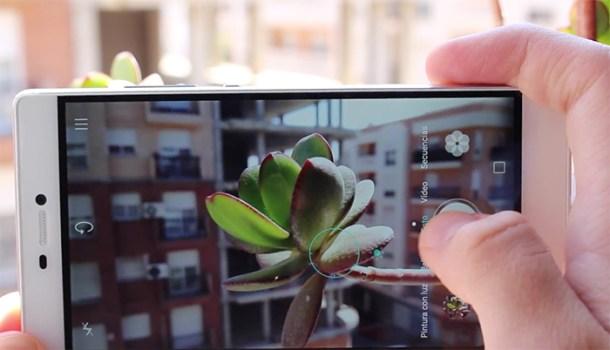 Velocidad de captura - Huawei P8
