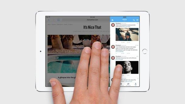 iOS 9 ipad slide