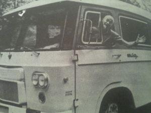 Walter Freeman en el 'Lobotomobile'