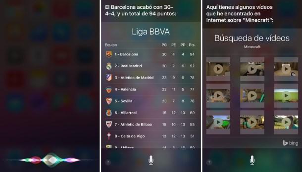 Siri es más rápido en cada iteración.