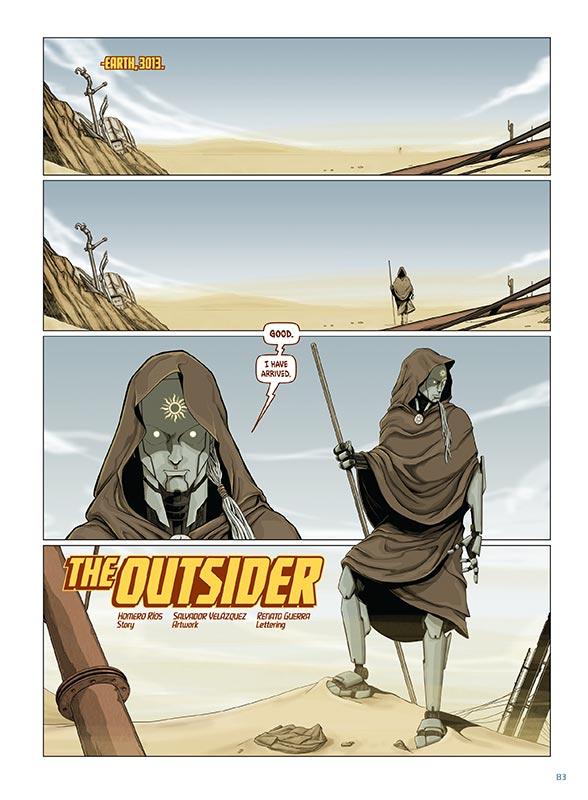 """""""The Outsider"""" por Homero Rios, Salvador Velázquez, & Ronato Guerra"""