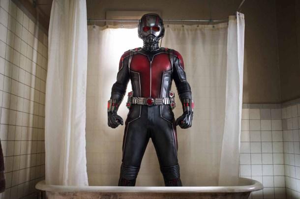 Ant-Man (Paul Rudd) Créditos: Zade Rosenthal -  Marvel 2014