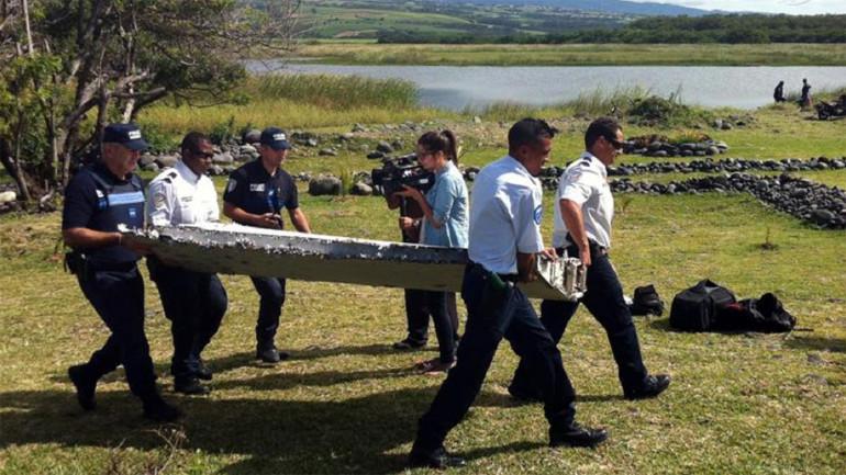 restos vuelo MH370