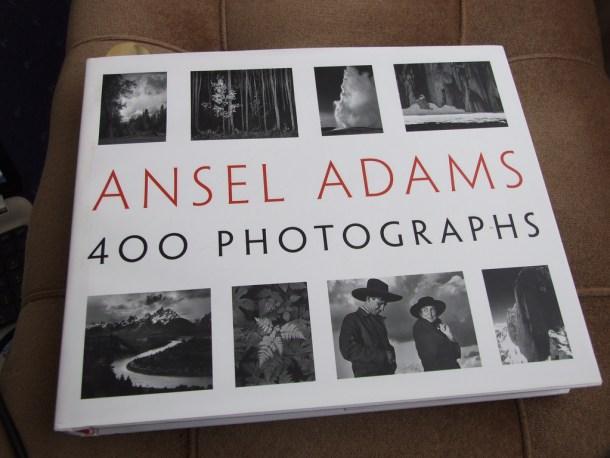 Ejemplar del libro 400 Photographs de Ansel Adams. Fuente: Mac Evans Flickr