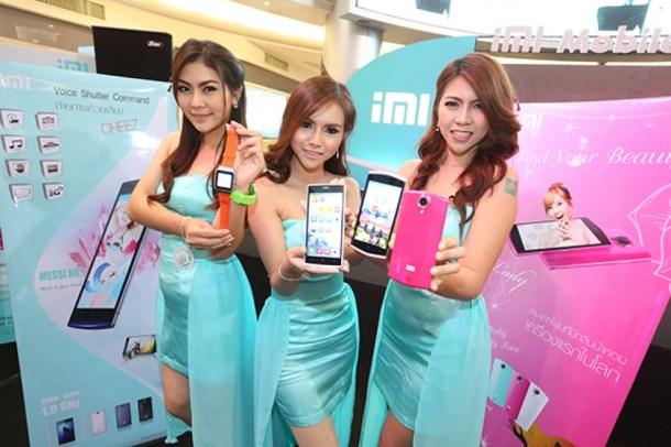 iMi en Tailandia, uno de los ejemplos más flagrantes de plagio a Xiaomi. SCMP Reuters