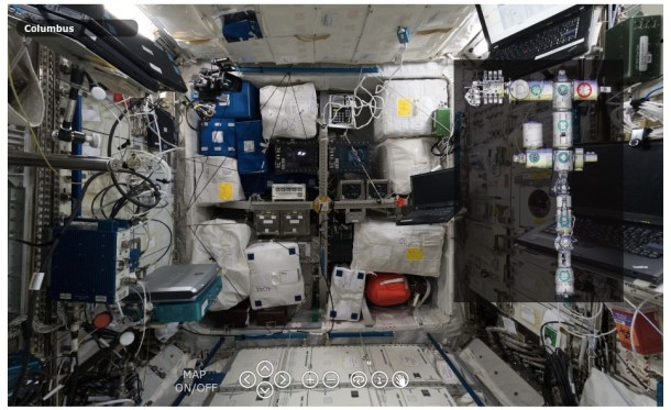 tour virtual ISS