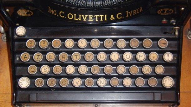 Detalle de una Olivetti M1. Fuente: FinanzaOnline