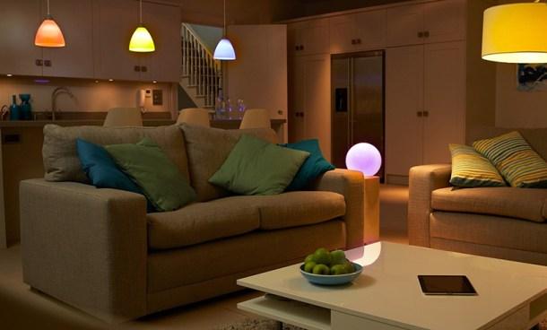 Bombillas de Philips Hue para crear diferentes ambientes desde tu smartphone