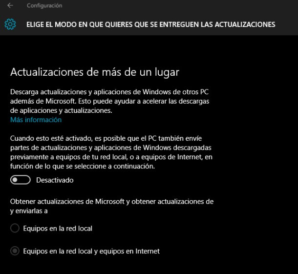 internet lento y windows 10
