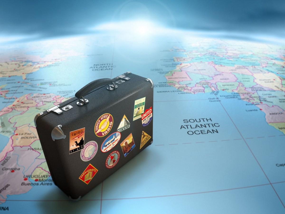 etiqueta para viajeros