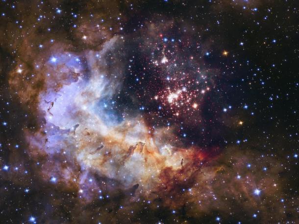 Una guardería estelar que alberga más de 3.000 estrellas en la costelación Carina. Reuters | NASA
