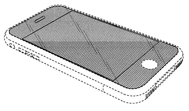 La patente de diseño 618.677 de Apple