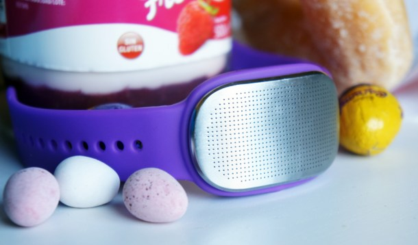 Pulsera GoBe Healbe que mide entre otras cosas, las calorías consumidas