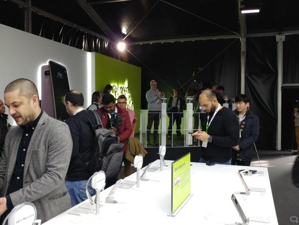 LG G5 disparando con la cámara trasera 'normal'