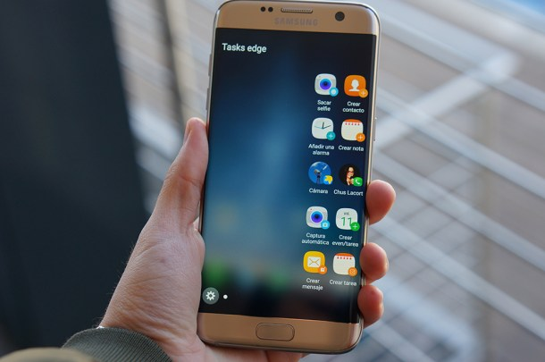 Samsung Galaxy S7 edge. Fotografía: Hipertextual