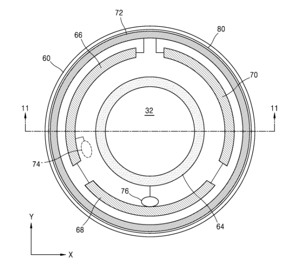 Samsung patente lentillas