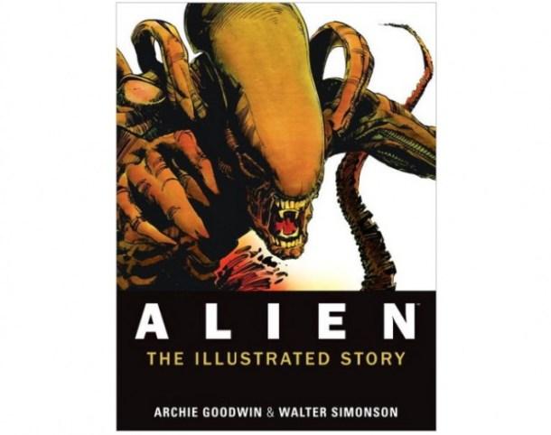 alien ilustratered