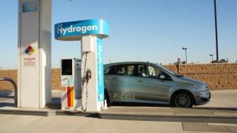 coche hidrogeno pila de hidrogeno