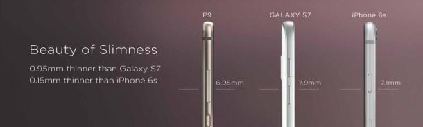 p9 comparativa s7 iphone