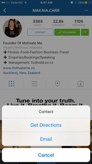 instagram perfiles negocios