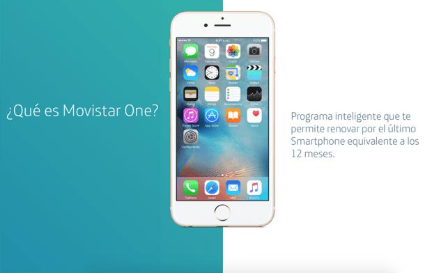 Programa Movistar One. Renueva tu smartphone cada 12 meses.