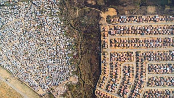 fotografia aerea riqueza pobreza 01