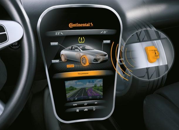 sensor de presión de neumáticos